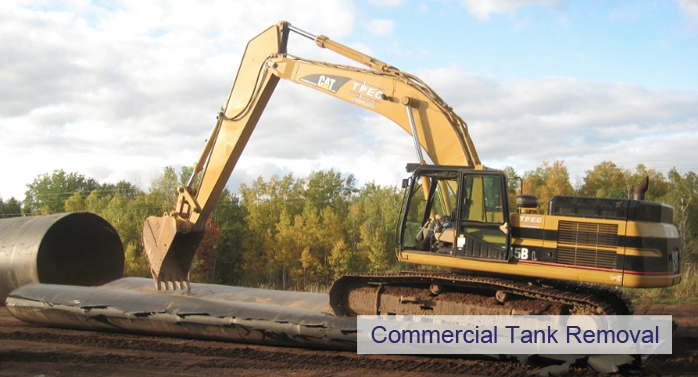 commercial tank removal